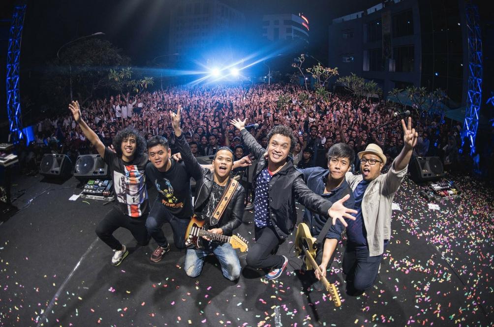 Nidji Kembali Ke Malaysia Untuk Konsert Joox Live