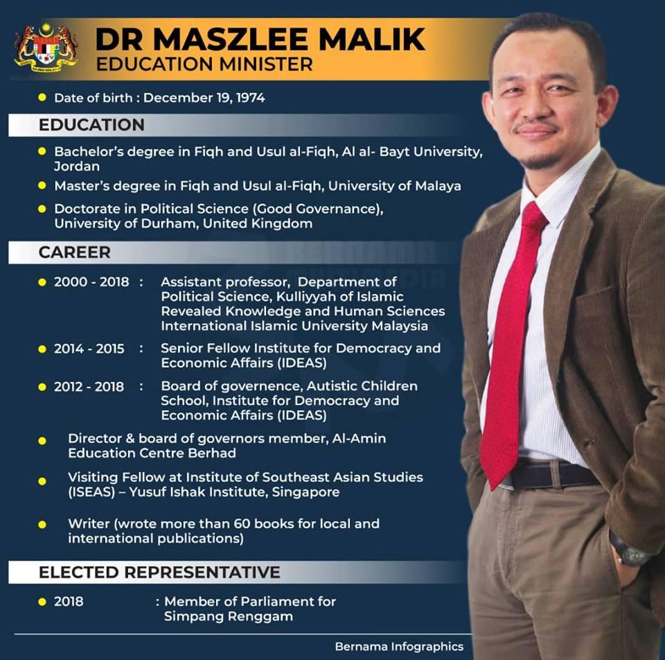 Profile Dr Maszlee Malik