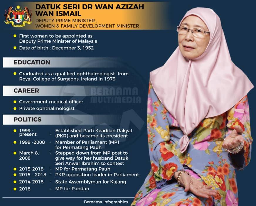 Profile Datuk Seri Dr Wan Azizah