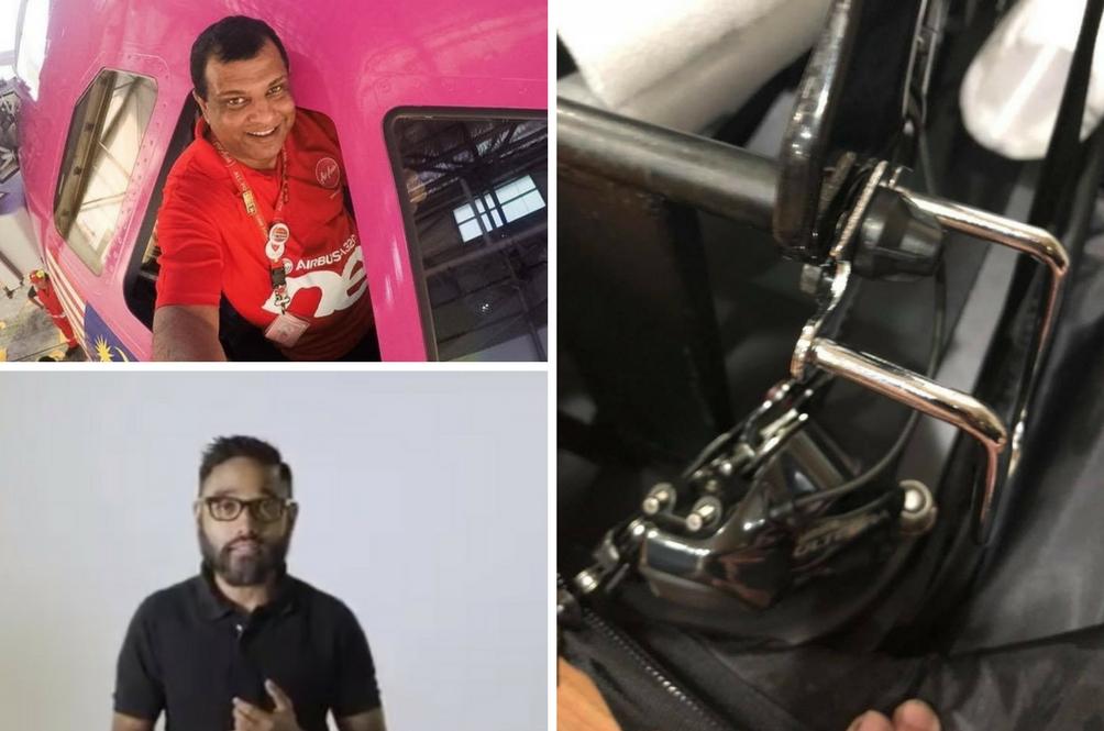 Basikal Untuk Ditunggang, Bukan Dicampak - AirAsia Mohon Maaf Insiden Patahkan Basikal Penumpang