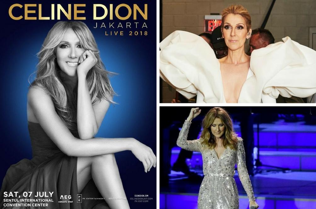 Harga Tiket Konsert Celine Dion Jakarta Live 2018 Mahal, Kenapa?