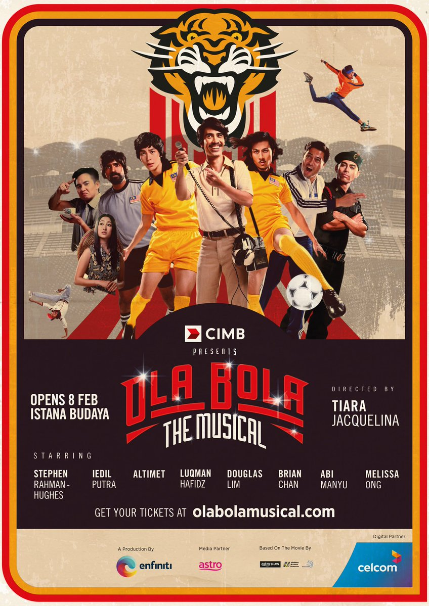Poster OlaBola The Musical.