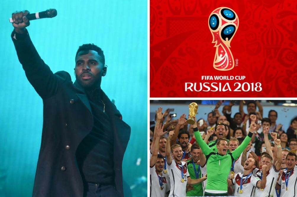 'Colors' Nyanyian Jason Derulo Terpilih Lagu Tema Piala Dunia 2018
