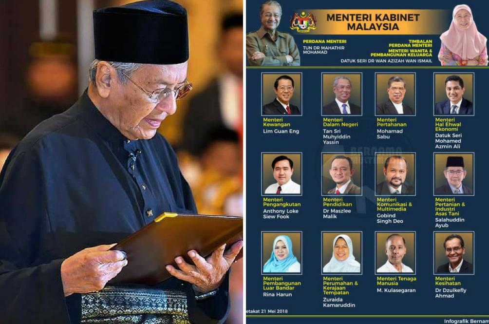 Image result for menteri2 kabinet mahathir