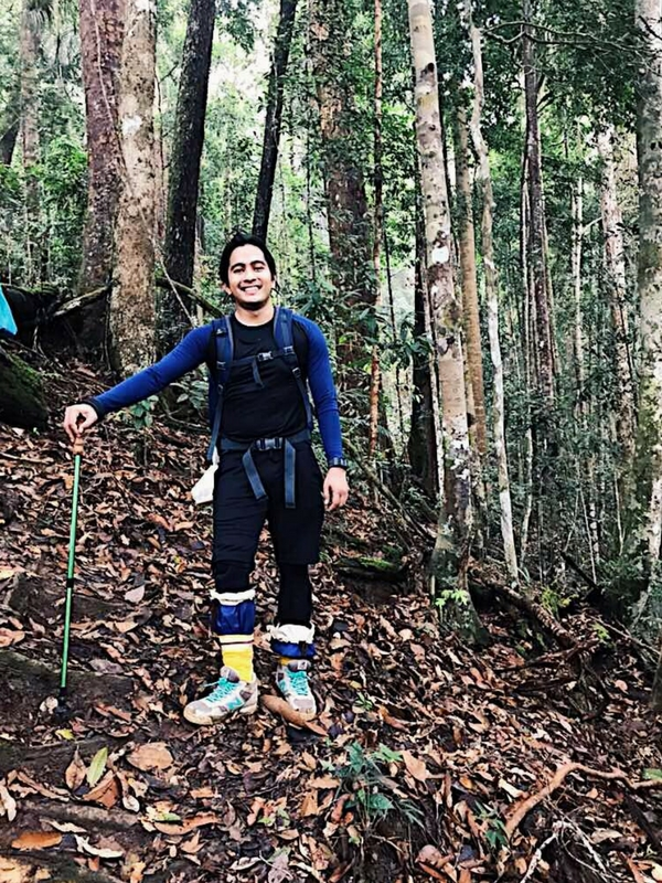 Kuatkan fizikal dan mental sebelum masuk ke hutan ini.