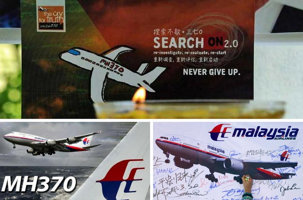 Mengenang MH370 - Doa Rakyat Malaysia Sentiasa Bersamamu