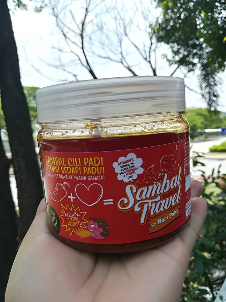 Sambal Nasi Paka travel.