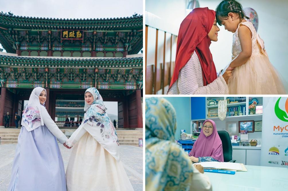 6 Ikon Hijab Inspirasi Koleksi Aidilfitri Jenama Tudung People