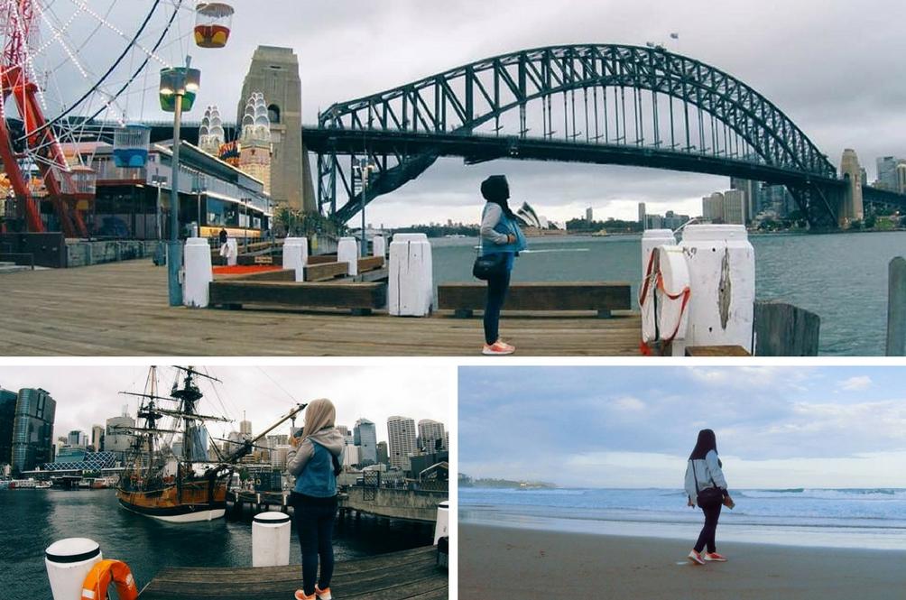 Gadis Ini Kongsi Tips Rakam Gambar Sendiri Ketika Kembara Solo