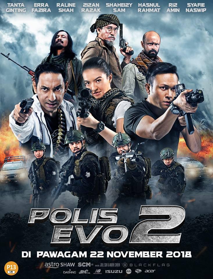 Poster filem Polis Evo 2.