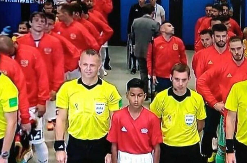 Kerana Pelajar Tingkatan 2 Ini, Malaysia Turut Berada di Piala Dunia Rusia 2018