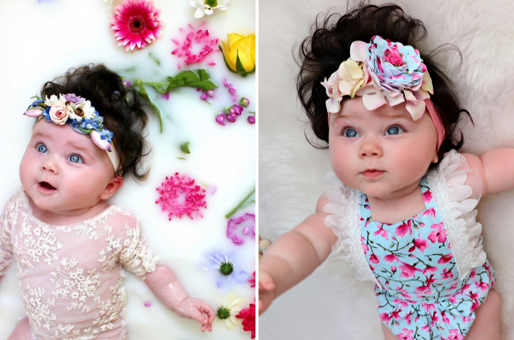 Bayi 8 Bulan Laris Jadi Model Iklan Rambut