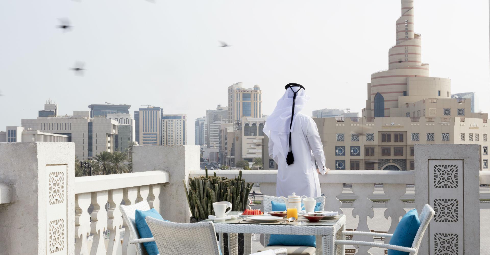 Souq Waqif di Doha.