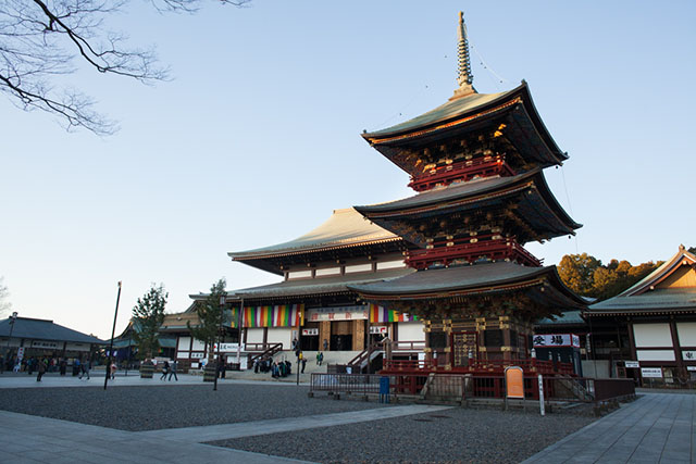 Shinsho-ji Temple.