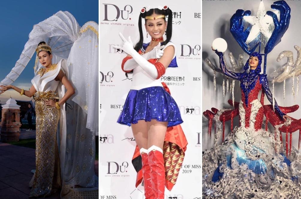 Gajah, Sailor Moon Dan Penjual Banh Mi Antara Kostum Nasional Miss Universe 2018
