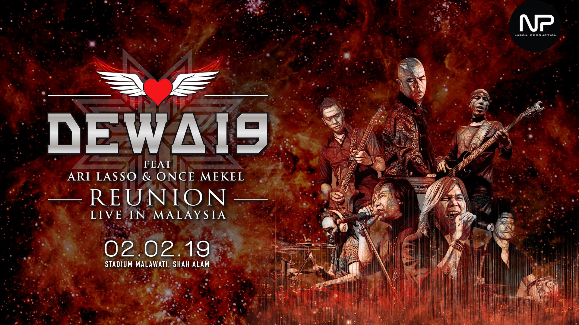 Dewa 19 Live In Malaysia.