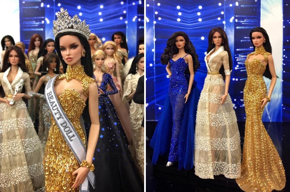 USA Menang Miss Beauty Doll 2018, Maya Natasha Dari Malaysia Sekadar Top 10
