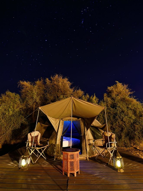 Glamping in style!