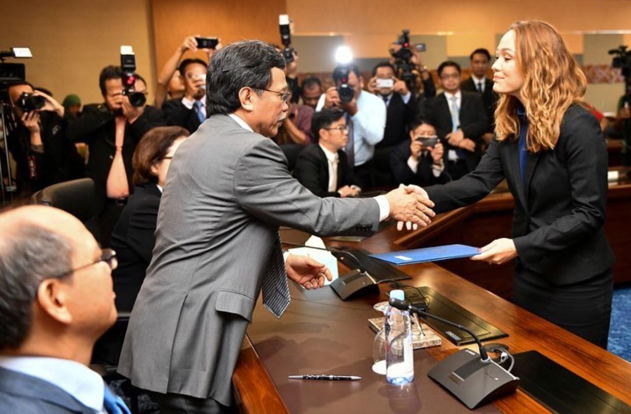 Setiausaha politik Ketua Menteri Sabah.