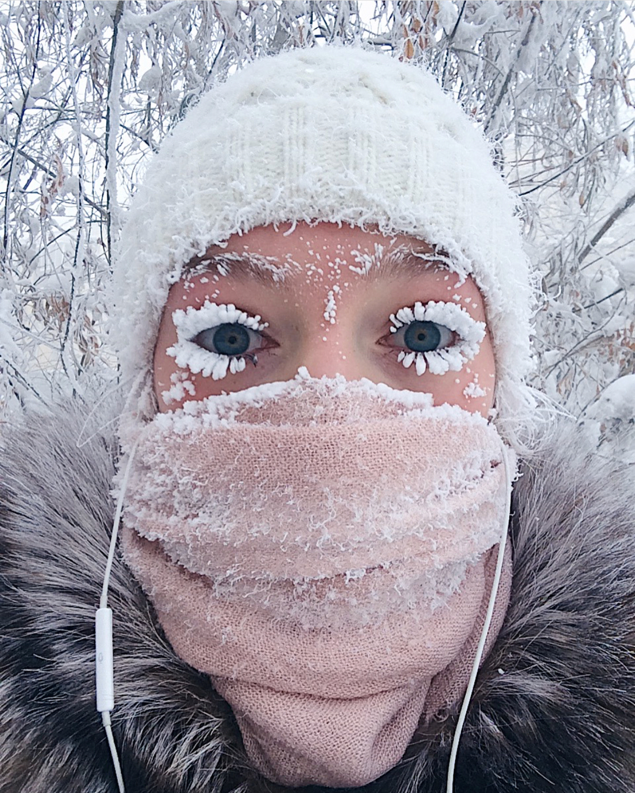 Musim sejuk melampau!