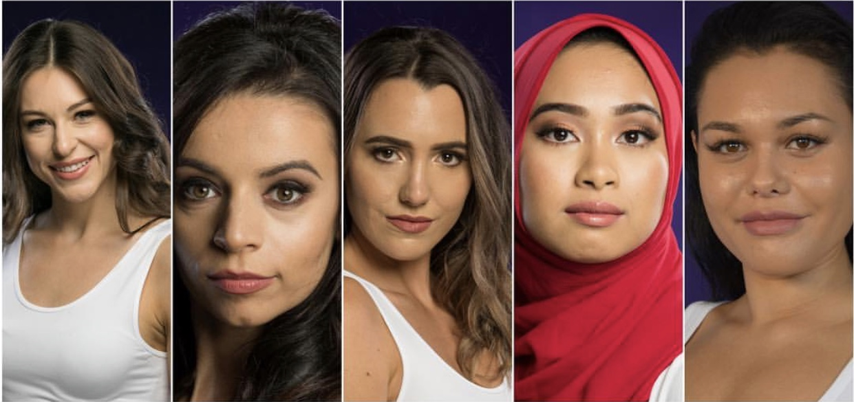 Top 5 Miss Universe New Zealand 2018.