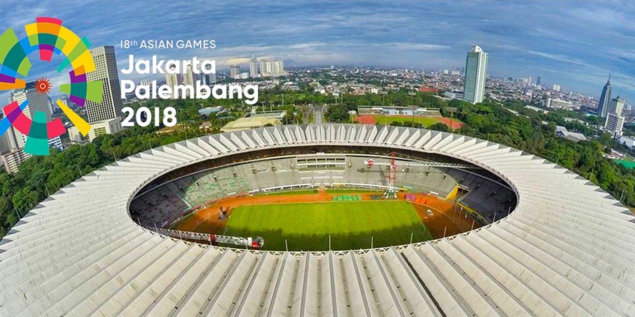 Indonesia menjadi tuan rumah bagi edisi ke-18 Sukan Asia.