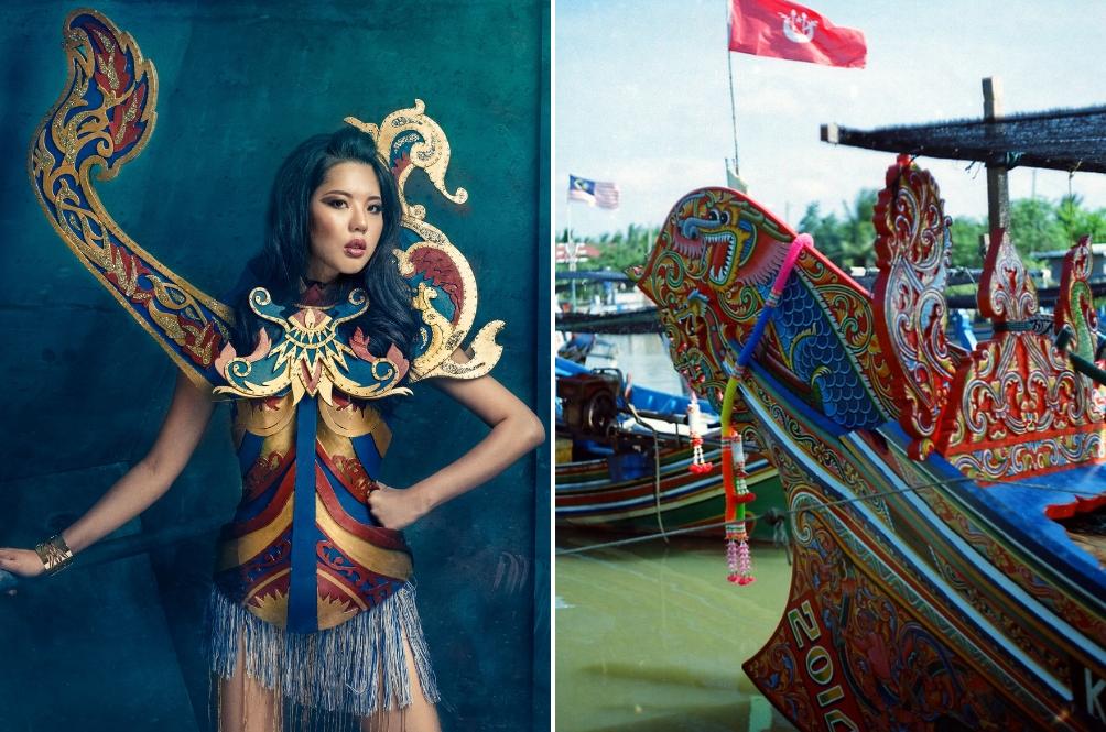 Inspirasi daripada Bangau Perahu, Ini Fakta Tentang Kostum Nasional Miss Universe Malaysia 2018