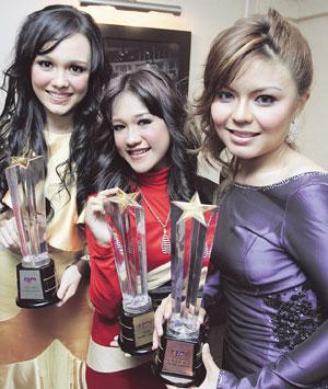 Naib juara Bintang RTM 2009.