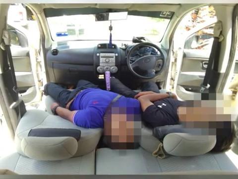 Dua remaja ditemui mati semasa tidur di dalam kereta.
