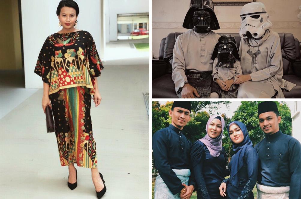 16 Fesyen Dan OOTD Raya Selebriti Pilihan Rojak Daily - Anda Suka Yang Mana?