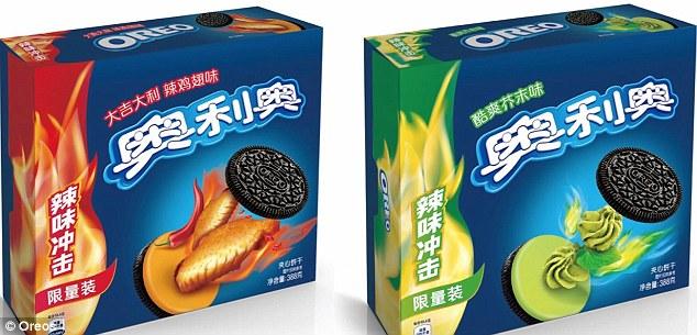 Dua perisa baru di China.