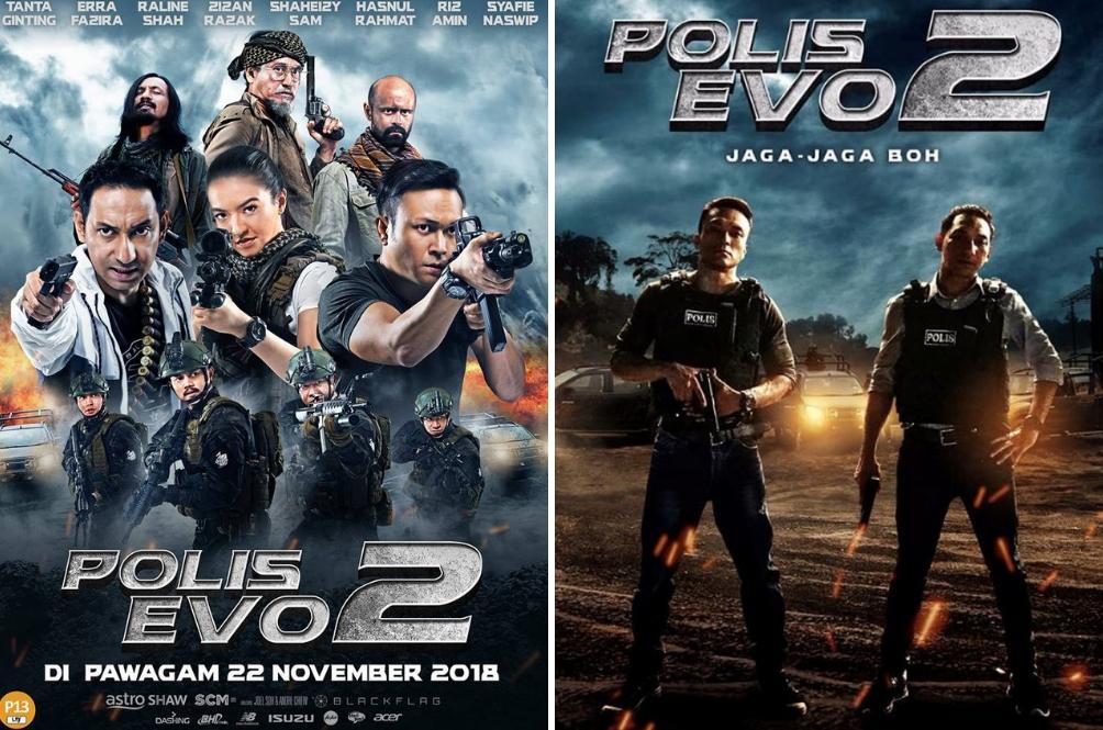 Atas Permintaan Ramai, Anda Boleh Menonton Filem Polis Evo 2 Lebih Awal!