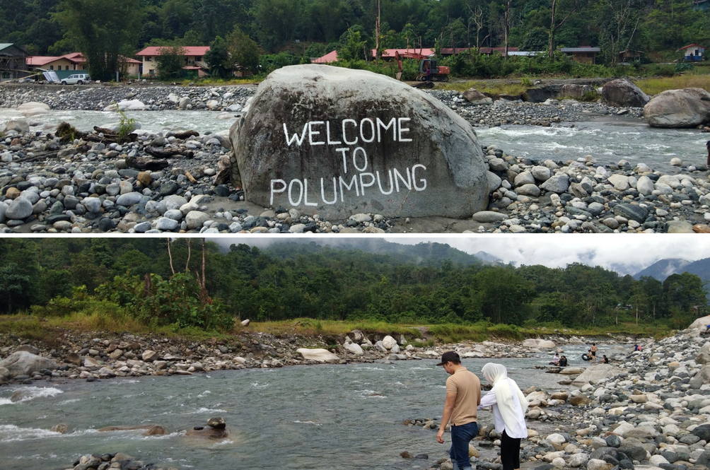 Mandi Sungai Bersaksikan Gunung Kinabalu, Pengalaman Ini Anda Patut Rasa Sendiri