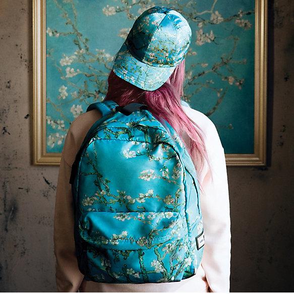 Beg pek dan topi Vans X Van Gogh Museum.