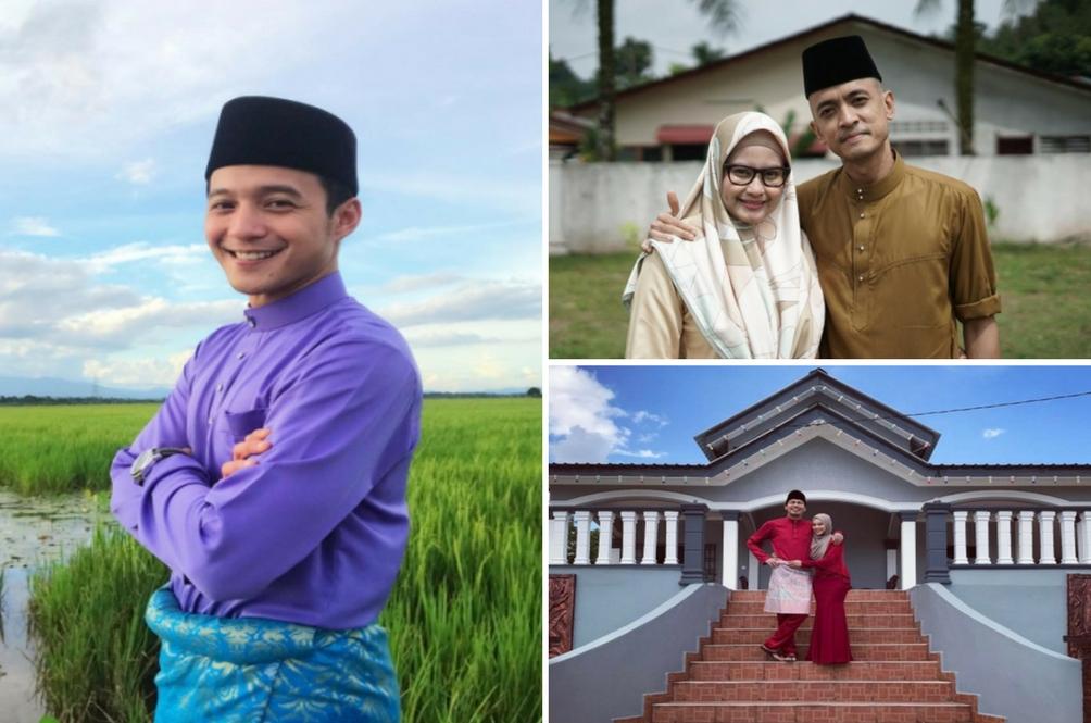 Indahnya 10 Selebriti Ini Beraya Di Kampung Tercinta