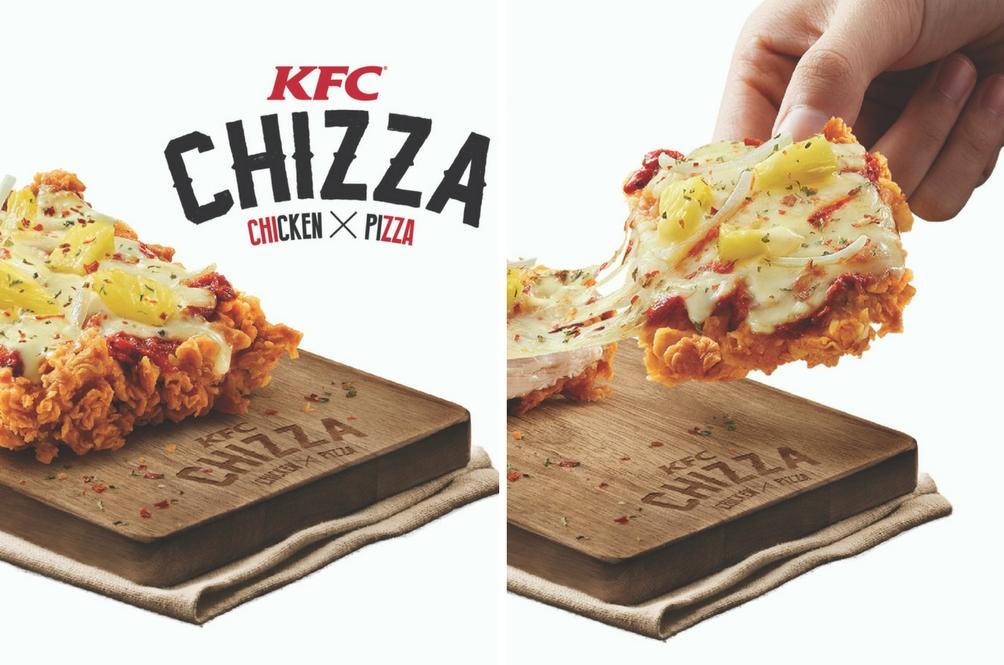 Piza Dan Ayam KFC Bergabung? Ciptaan Terhebat Abad Ini!
