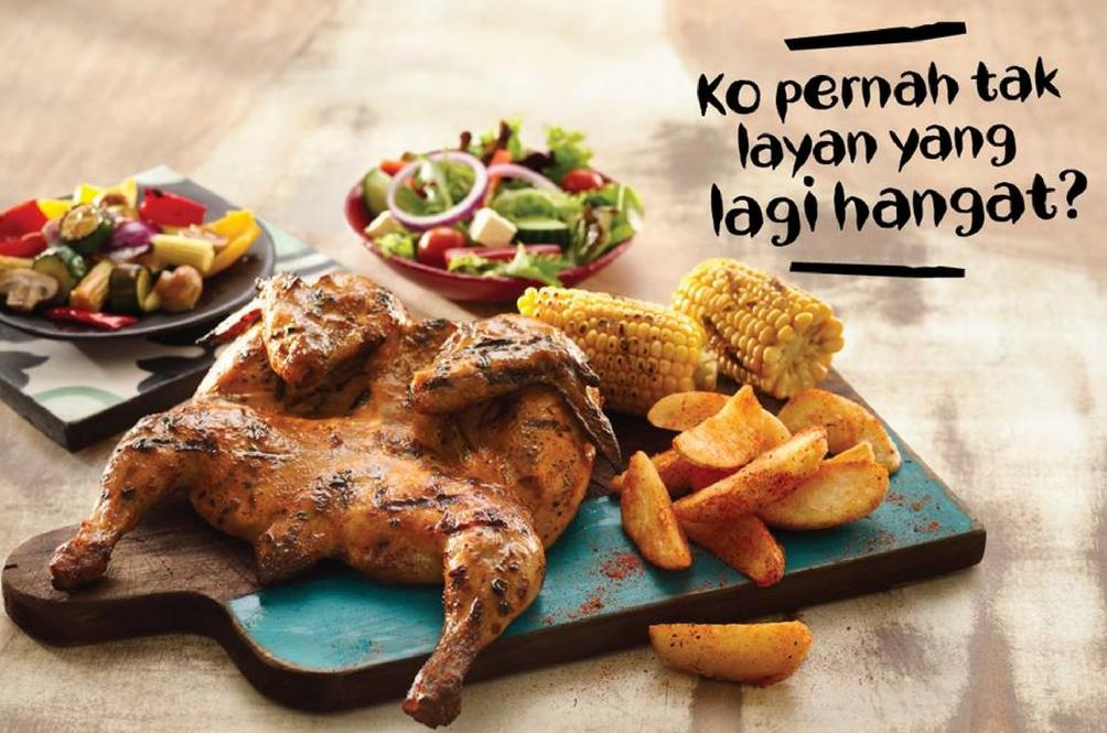Minta Nando's Belanja Jamuan Raya, Respon Dari Nando's Paling WIN!