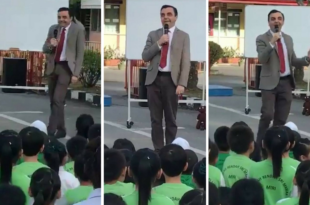 Mr. Bean Muncul Di Malaysia? Memang Sama!