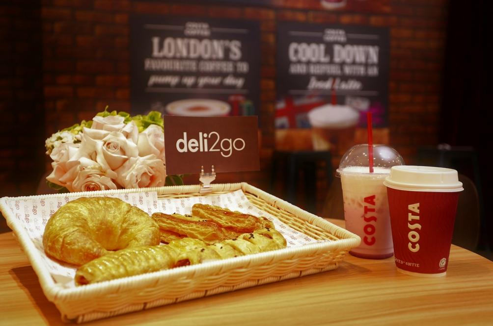Peminat Kopi Boleh Nikmati Kopi Popular London, Costa Coffee Di Stesen Shell