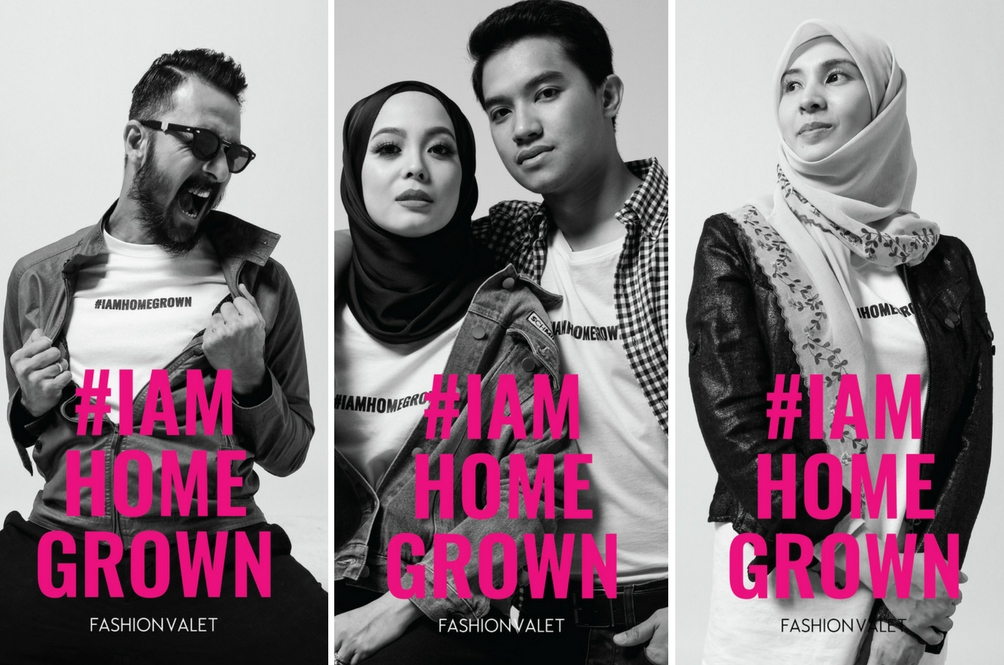 60 Ikon Malaysia Jayakan Kempen #IAMHOMEGROWN FashionValet
