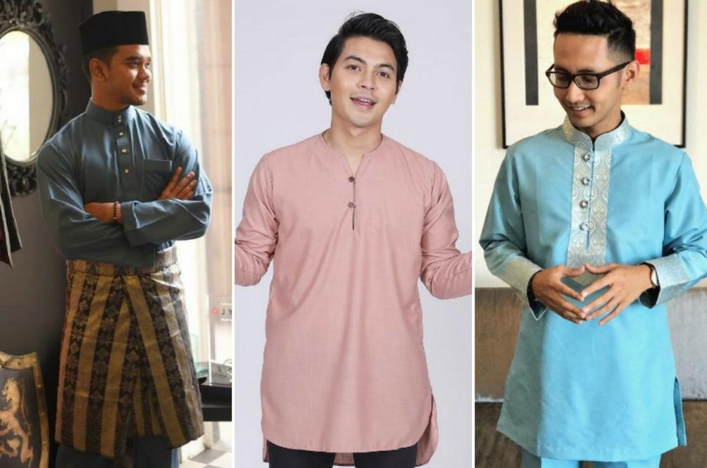 10 Inspirasi Baju Melayu Dan Kurta Selebriti Lelaki Untuk Anda