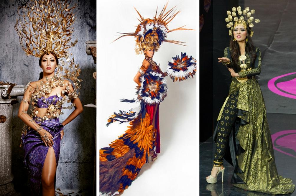 Lupakan Baju KLCC, Ini Busana Kebangsaan Miss Universe Malaysia 2008 - 2015 Yang Pasti Buat Anda Terpegun!
