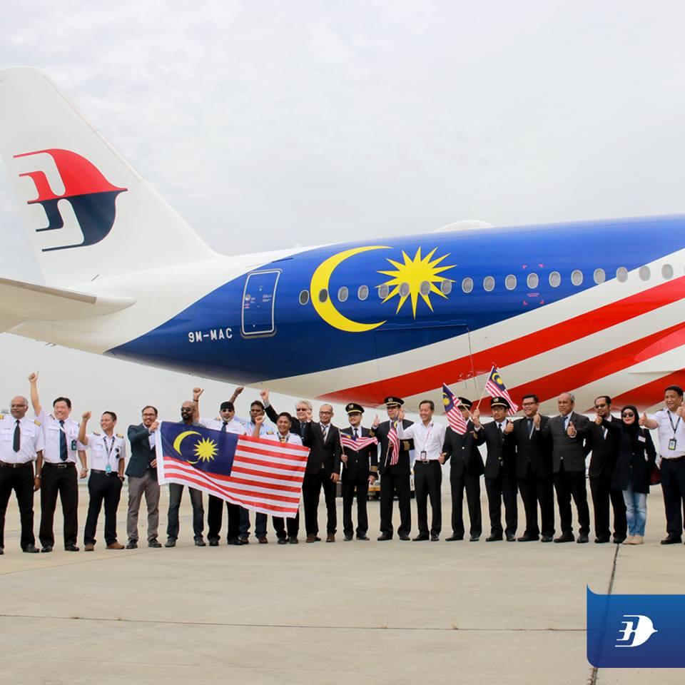 Tahniah pasukan Malaysia Airlines