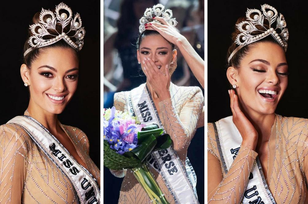 Miss Afrika Selatan, Demi-Leigh Nel-Peters Dinobatkan Sebagai Miss Universe 2017