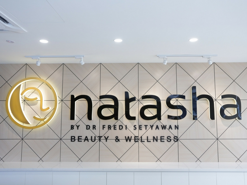 Outlet pertama Natasha Beauty & Wellness di Bangsar.