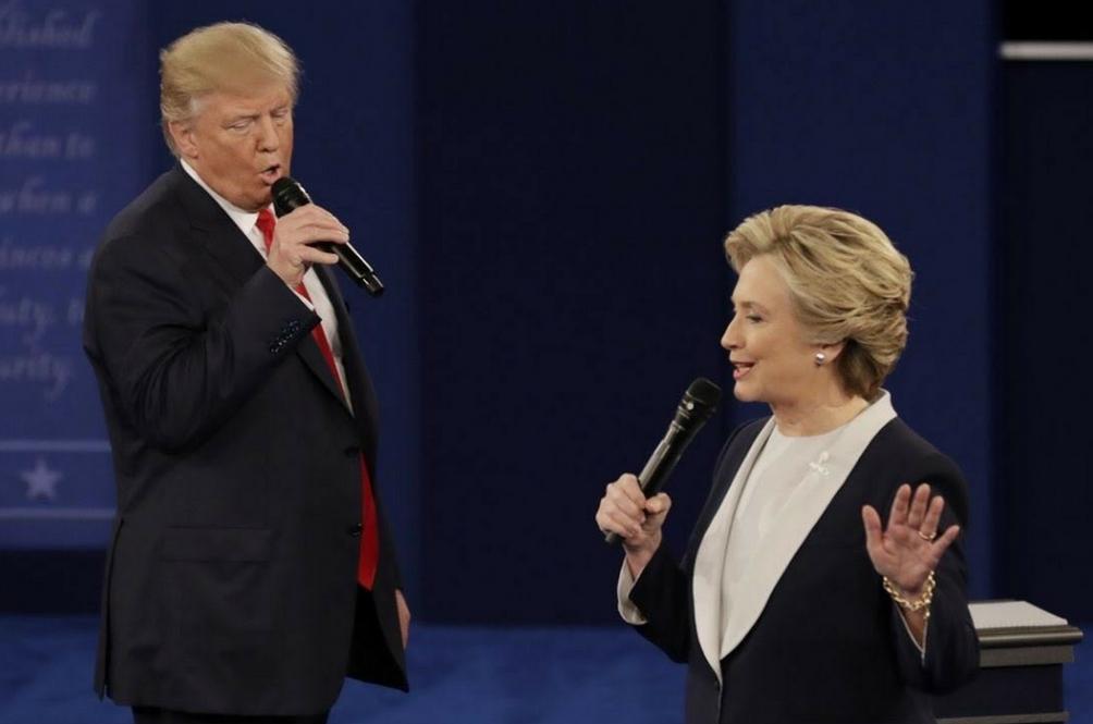 Donald Trump Dan Hillary Clinton Berduet?