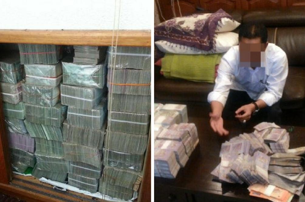SPRM Jumpa Wang RM114.5 Juta Dalam Rumah