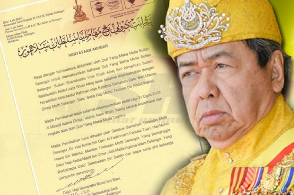Sultan Selangor Selamat Diijabkabul Dengan Pembaca Berita
