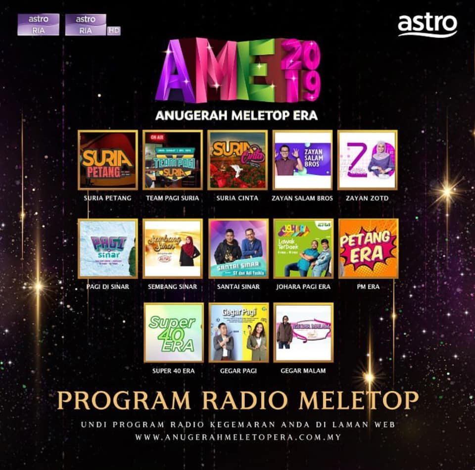 Program Radio Meletop.