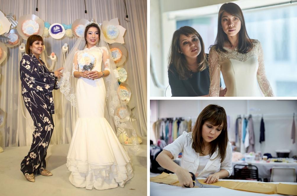 5 Perkara Anda Perlu Tahu Tentang Gaun Perkahwinan Tisu Pertama Di Malaysia Rekaan Nurita Harith